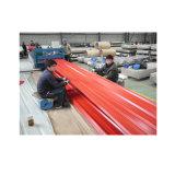 Vorgestrichenes überzogenes PPGI gewölbtes Blatt der Farben-für Dach-Material
