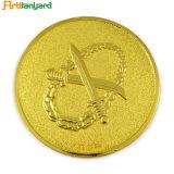 금속 기념품 동전을 각인하는 디자인