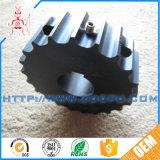 中国の工場真鍮/鋼鉄ベアリング付属品が付いているAnti-Abrasionプラスチック斜めギヤ