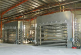 合板の生産ラインのための熱い出版物機械