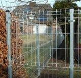 O PVC revestido de malha de arame soldado cerca para jardim / Painel de Cerca