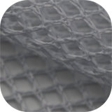 Tejidos de punto tricot grueso tejido de malla de poliéster 100