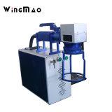 10W 20W 30W separat kleine bewegliche Faser-Laser-Markierungs-Maschine für Metallnicht Metall mit dem Cer genehmigt