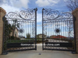 De gegalvaniseerde Poort van het Smeedijzer smeedde Binnenlandse Poort voor Tuin