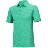 Mens a aplicar Athletic Short-Sleeve Polo camisas com marca personalizada