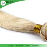 لا كيميائيّة [هومن هير] [بلوند] عذراء شعر شعر طبيعيّ