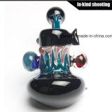 Tubulação de vidro colorida da mão do tabaco da SOLHA do artista do projeto da alta qualidade cera colorida nova para fumar