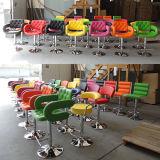 Sgabello di barra di cuoio sintetico rotativo della mobilia del salone di svago (FS-B8191)
