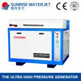 유리제 절단을%s 좋은 품질 3 축선 물 분출 절단 기계장치