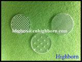 Hoher Reinheitsgrad passen Ausbohrungs-Silikon-Quarz-Glas-Stück an