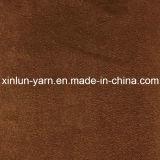 Ткань замши Faux способа сделанная в Китае для платья/куртки/перчаток