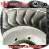 Las dos piezas de acero 12.00-20 neumático radial del molde para máquina excavadora neumático