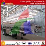 최신 판매 탄소 강철 물 탱크 트레일러