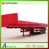 Транспортировка грузов Tri-Axle боковой стенки Полуприцепе