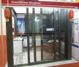 Deux portes coulissantes en verre extérieures de voies (SD7150)