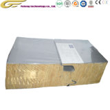 Les matériaux de construction sandwich en laine de verre ignifuge Core panneau mural de toit