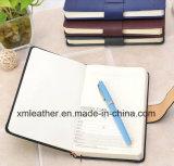 Журнал дневника высокого качества кожаный для дела
