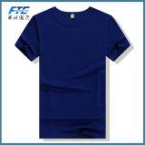円形の首の男女兼用の安い価格のOEMのTシャツ