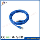 Cuerda de corrección de Cat5e/CAT6/CAT6A/Cat7 SFTP/cable de la corrección