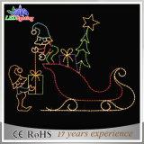 La Navidad de interior LED del día de fiesta enciende la carta para la luz de la decoración