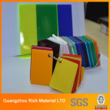 3mm, 4mm, 5mm Farbe warfen Acrylplastikvorstand des blatt-PMMA für Zeichen