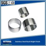 Steel inoxidável Bush Parte com Bright Finish