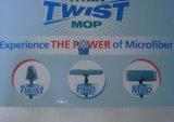 Mop piano di Microfiber del nuovo di disegno 2016 di torsione del Mop Mop di compressione