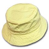 カスタム女性女の子の形式的で黄色い帽子の帽子