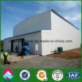 Chambre froide pour le logement de la structure en acier