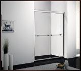 Acessórios deslizantes dobro do banheiro do compartimento do chuveiro do gabinete do chuveiro da porta do chuveiro do vidro Tempered