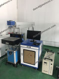 Гравировальный станок Lether машины маркировки лазера СО2 пластичный деревянный