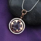 Halsband van de Juwelen van de Manier van de Legering van de Namaakbijouterie van de Toebehoren van het kledingstuk de Goud Geplateerde