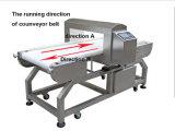 Verifique o detector de metais ferrosos não ferrosos para indústria alimentar