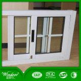 백색 슬라이딩 윈도우 PVC Windows 슬라이딩 윈도우