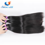 ブラジルの直毛の織り方は100%の人間の毛髪の束の毛の拡張3PCS束のShinesilk Non-Remyの毛を束ねる
