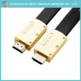 Cavo dorato 2.0 di HD 4K 60Hz 2160p HDMI con Ethernet per HDTV DVD PSP3000
