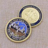 연약한 사기질은 저희를 수집을%s 육군 도전 동전 금속을 붙인다