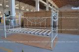 金属の寝台兼用の長椅子-花デザインモデル