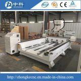 Router de madeira do CNC de 4 eixos refrigerar de ar dos eixos da linha central 4