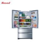 Refrigerador de la puerta francesa del montaje de la parte inferior del hogar
