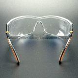 Bril van de Veiligheid van het Type van Stootkussen van de Lens van PC van het Frame van Ajustable de Zachte (SG109)