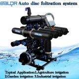 3 Systeem van de Filter van de Schijf van de Slangen van de Irrigatie van het Landbouwbedrijf van het Type van duim H het Auto Backflushing