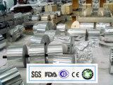8011 o temperamento 0.012X295 de la bobina de aluminio para supermercado