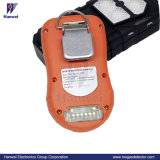 Portables industriels IP66 4-en-1 (LEL, CO, H2S, O2) Analyseur de gaz multiples