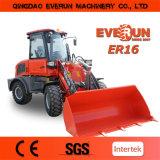 Everun Marca 1,6 Ton minicargadores venta caliente 2015 nueva máquina