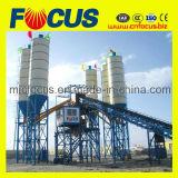 Impianto di miscelazione concreto di vendita calda, pianta d'ammucchiamento del calcestruzzo prefabbricato Hzs120