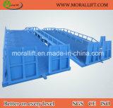 8 tonne mobiles hydrauliques de rampe de chargement du conteneur
