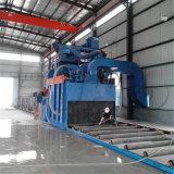 Machine de grenaillage de plaque en acier de convoyeur de rouleau de matériel de nettoyage
