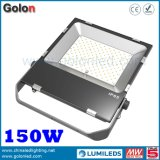 Ultra Slim 150W LED Floodlight High Power Remplacer 1000W Metal Hailide Lamp 5 ans de garantie