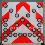 Знак доски стрелки En12966 стандартной Tma установленный тележкой СИД